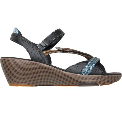 vegan camper wedge sandals